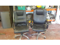 2 Used Executive Swivel Chairs