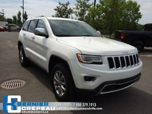 2016 Jeep Grand Cherokee Limited*ENS.OVERLAND, TOIT PANO+SIEGE V