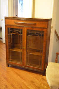 Gorgeous 1940's China Cabinet