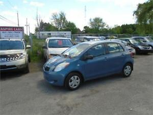 "2007 Toyota Yaris ""LE""-RUSTPROOFED-2 SETS OF TIRES-EXTRA CLEAN!"