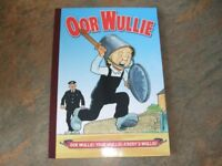 A selection of The Broons and Oor Wullie annuals all in mint condition
