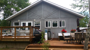 Lake front house for Rent - Buffalo Lake BOOK NOW FOR CHRISTMAS