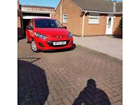 Mazda 2 1.3 Sport 5dr Hatchback Red – Only 27K miles