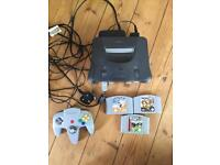 Nintendo 64 N64 bundle with games