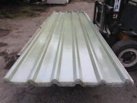 Box Profile Roof Lighting Sheets 3.60 x 1.08m (1m cover) New £36 Each