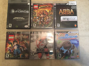 PlayStation 3 Games @ $8/each