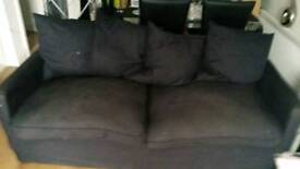 FREE ikea black sofa