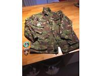 NATO camouflage jacket