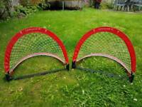 Small Liverpool goal posts
