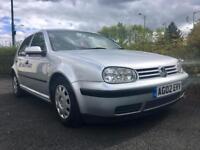 2002 Volkswagen Golf 1.6 Low Miles Full MOT Faulty