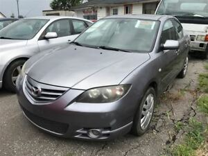 2004 Mazda MAZDA3 AUTO!LOADED!GT!ROOF!FULLY CERTIFIED!