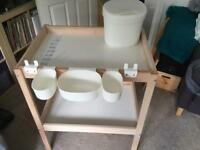 Ikea Changing Table & Accessories in excellent condition £20 ono