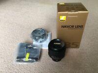 AF-S NIKON 85mm f/1.8G