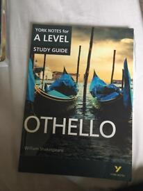 A LEVEL LITERATURE STUDY GUIDE : OTHELLO
