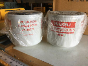 Filters for issusu box truck