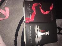 2 x twilight hard back books