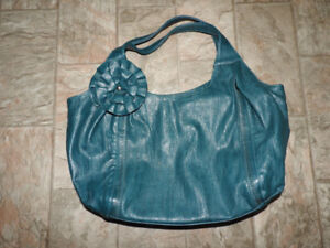 Large purse / handbag with decorative flower ($12)