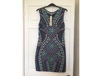 BNWT Lipsy jewel print bodycon dress