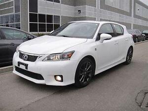 2013 Lexus CT 200h F-SPORT,LEATHER,SUNROOF