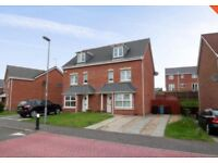 4 BEDROOM SEMI-DETACHED TOWN HOUSE for Rent SMITHSTONE, CUMBERNAULD £950 PCM