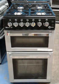 B698 Silver Flavel 50cm Gas Cooker, Comes With 6 Months Warranty & Can Be Delivered Or Collected