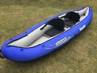 Inflatable Kayak/Canoe - Sevylor Sirocco Pro 2 man