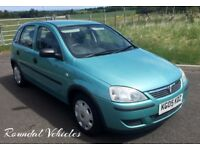INDOOR SHOWROOM! IMMACULATE 2005 1.2 Corsa 5 dr twinport Aqua Blue metallic 11 mths mot BARGAIN