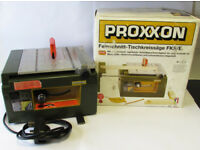 Proxxon Micromot System Super Fine Cut Table Saw Model FKS/E, No 28 070.