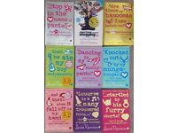 9 books by Louise Rennison (Confessions of Georgia Nicolson series)