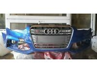 Audi a5 s5 competition plus bumper and grille