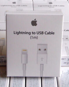 New Original Genuine Apple Charger Lightning Cable