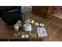 avent double electric breast pump.