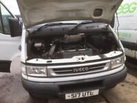 Iveco daily double wheel axel lwb high top van spare parts breaking