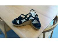 As new marks and spencer autograph wedge shoes.