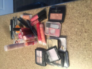 Makeup Lot, many products still sealed