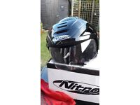 NITRO X512-V OPEN FACE MOTORCYCLE HELMET