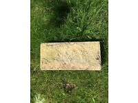 8 Sandstone Garden Wall Blocks