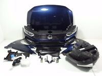 Single unit: Front end VW Passat B8 VW Passat B8 1.4 TSI bumper mudguard bonnet cooler LH5X / 49427