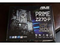Asus Intel PRIME Z270-P LGA 1151 ATX Motherboard (Brand New)