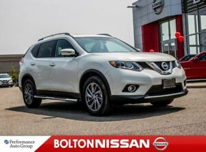 2016 Nissan Rogue SL Premium|Leather|NAVI|Bluetooth|Moon Roof