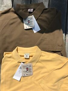 2 new Columbia short sleeve polo shirts