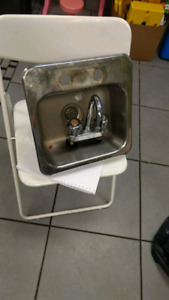 Bar sink and taps