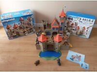 PLAYMOBIL Knights Empire Castle 3268 with Extras. All boxes & instructions included.