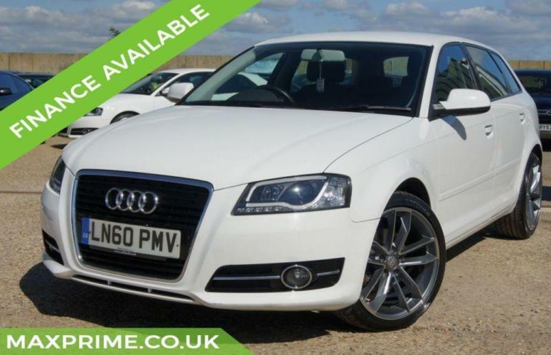 AUDI A3 1.8 TFSI SE S LINE ALLOYS AUTOMATIC WHITE + JUST SERVICED AT AUDI DEALER