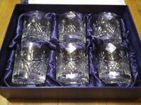 Edinburgh Crystal Beauly Old Fashioned Whisky Tumblers