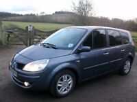 Renualt Grand SCENIC 7 SEATER DIESEL 1.9dci