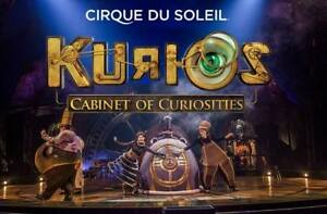 *** KURIOS-CIRQUE DE SOLIEL producer/premium tickets