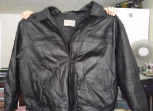 Mens 4XL leather jacket