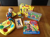 MR Tumble toy bundle