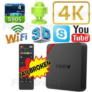 T95N S905 Smart TV BOX Android 6 KODI XBMC LIVE TV MOVIES SPORTS